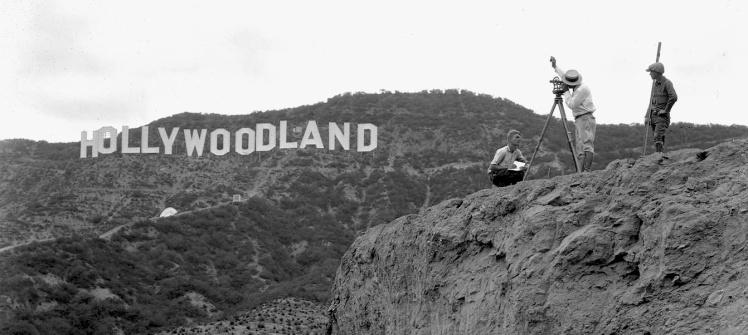 Letreiro original de Hollywood