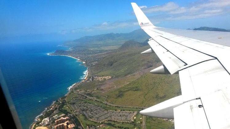 Sobrevoando Oahu