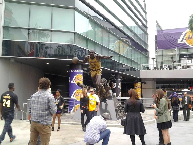 Staples Center - Lakers x Knicks