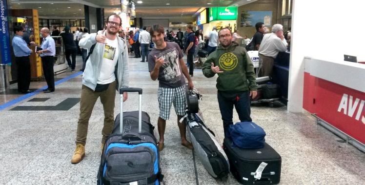 Chegada em Porto Alegre