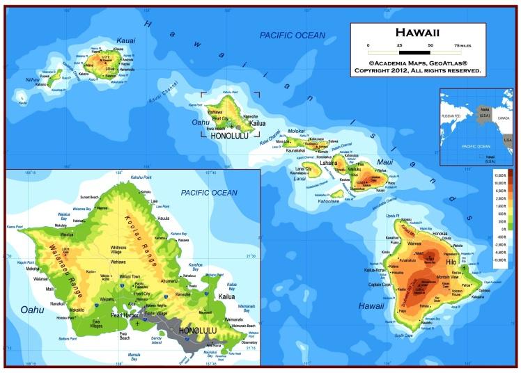 Hawaii - Oahu em destaque