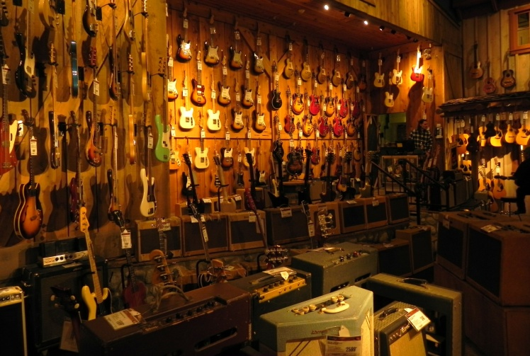 Guitar Center - Vintage Saloon