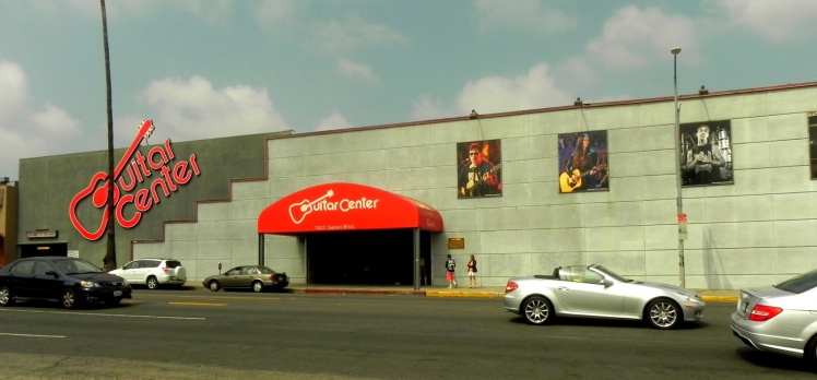Guitar Center Hollywood