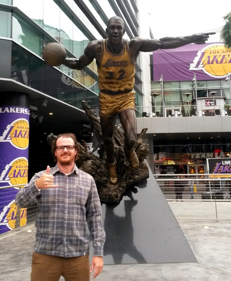 Staples Center - Earvin