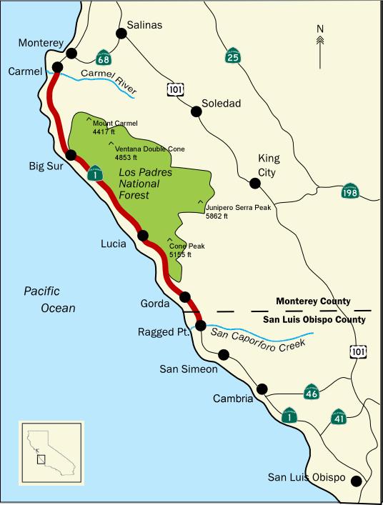Região da Big Sur