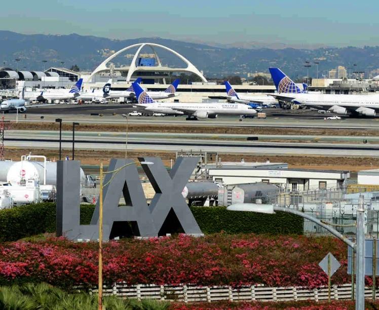 LAX - Aeroporto de Los Angeles