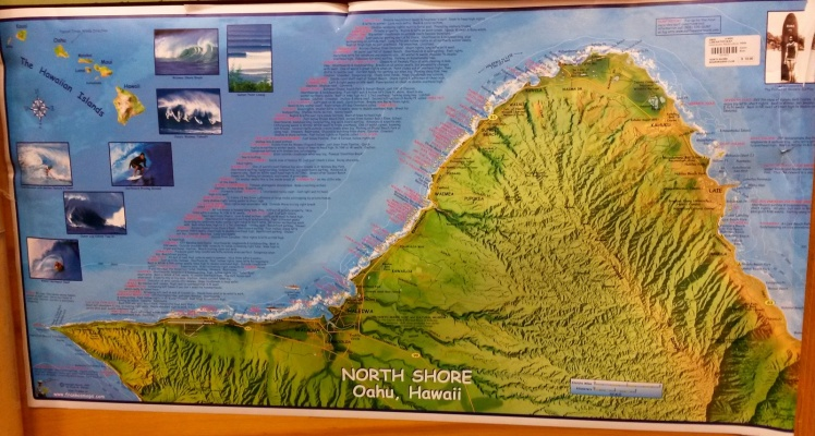 Mapa do North Shore