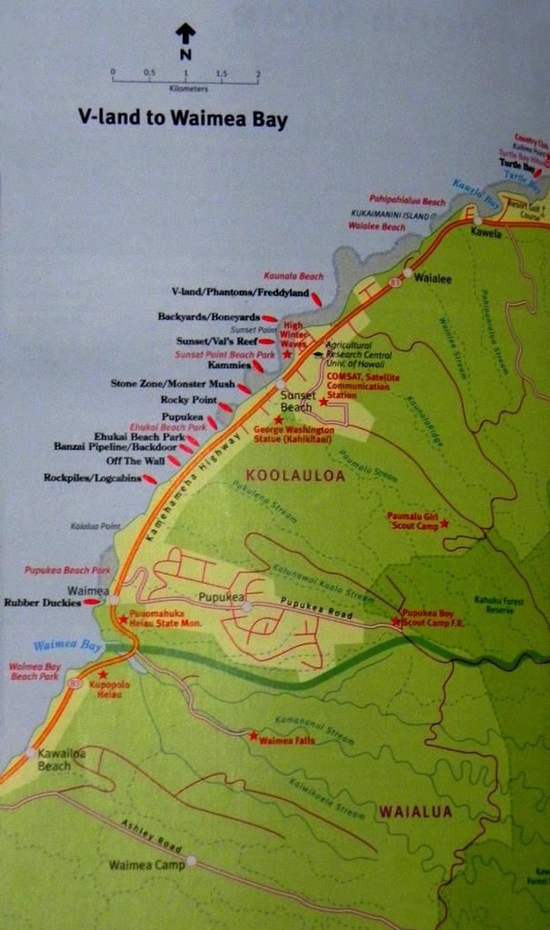 North Shore - Waimea à Turtle Bay