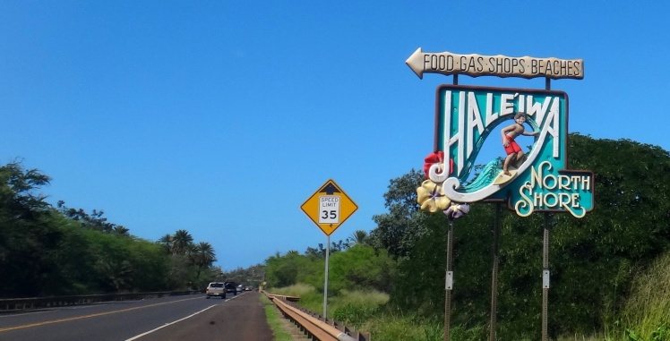 Clássico cartel de Haleiwa
