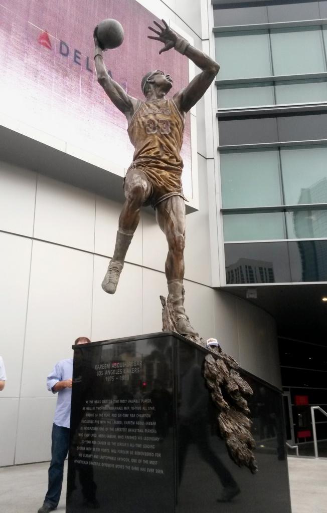 Staples Center - Kareem Abdul-Jabbar