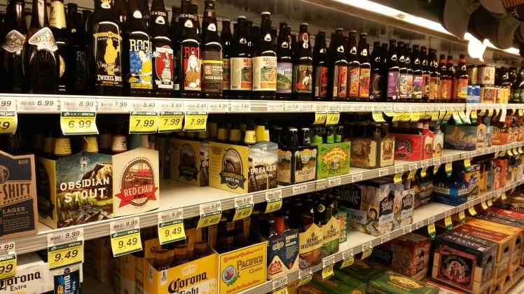 Grande variedade de cervejas