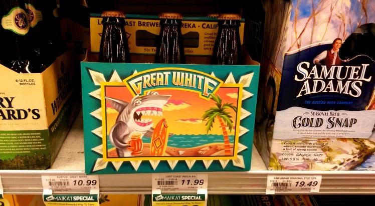 Outra cerveja artesanal homenageando os tiburones!