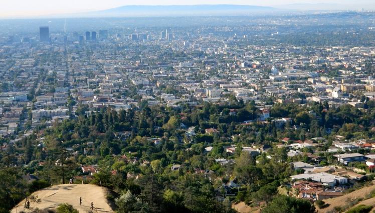 Vista de Los Angeles desde o Observatório Griffith