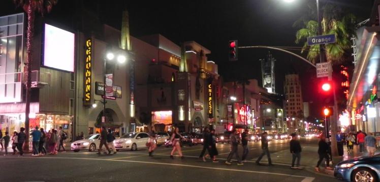 Hollywood Boulevard - Calçada da Fama