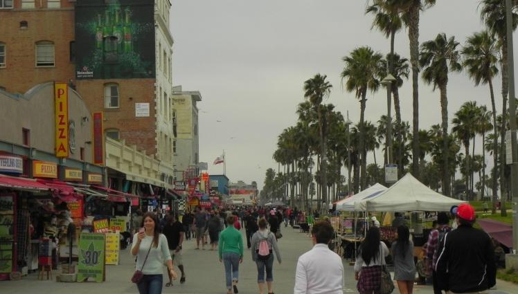 Venice Beach, a maior concentração de maluco por metro quadrado de Los Angeles