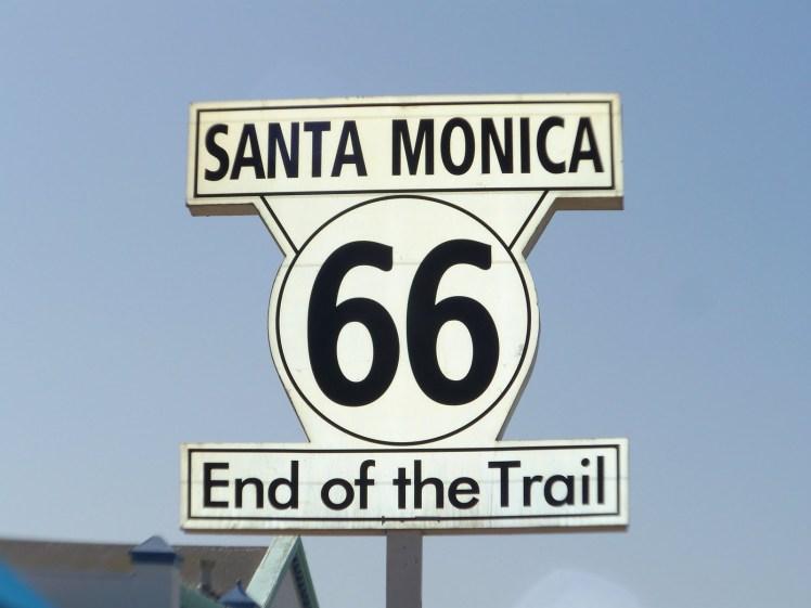 Santa Monica - Final da Route 66