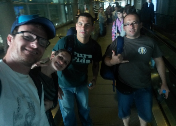 Conexão em Bogotá - Colômbia