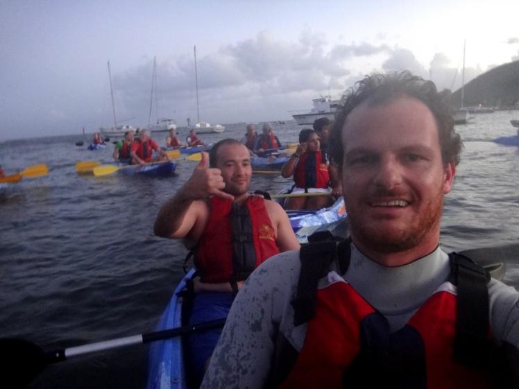 Kayak em Fajardo