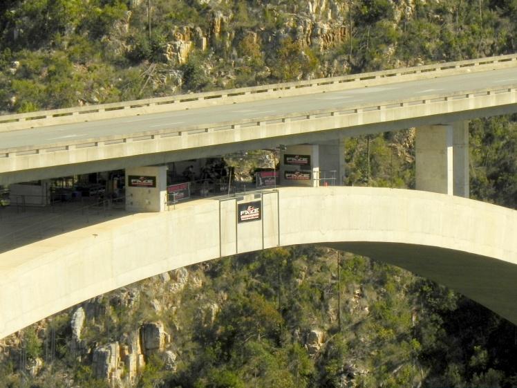 Bloukrans Bridge - área de salto