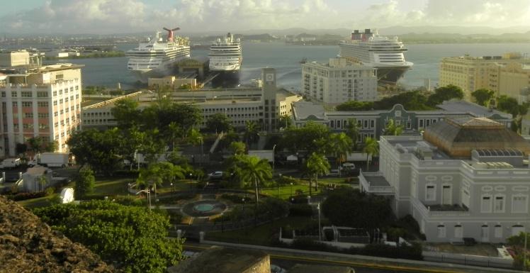 Cruzeiros em San Juan