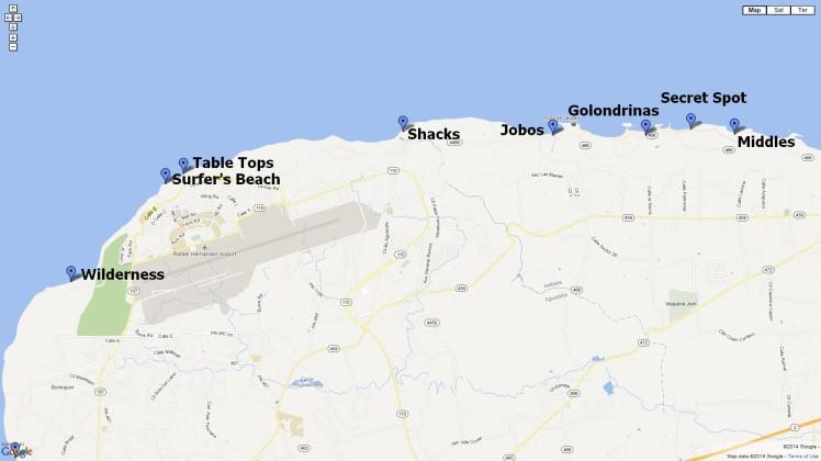 Isabela Surf Spots