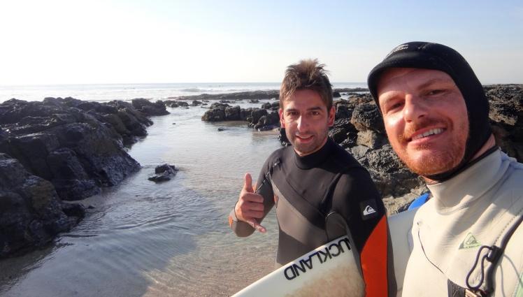 Igor e Tiburón em J-Bay