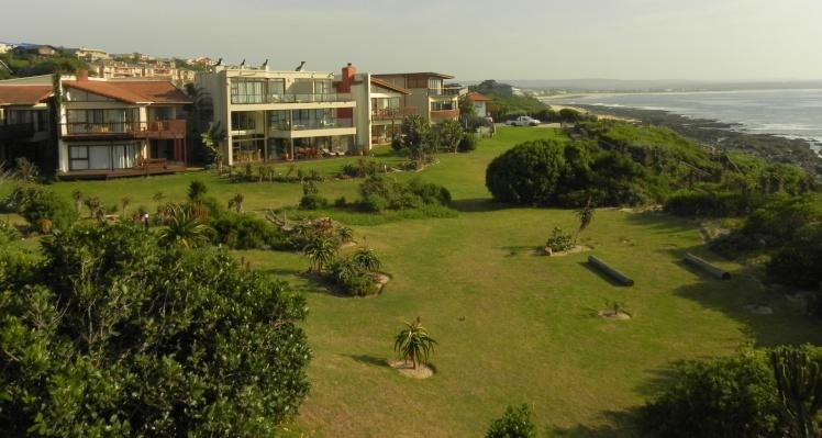 Panorama de J-Bay desde o Beach Music