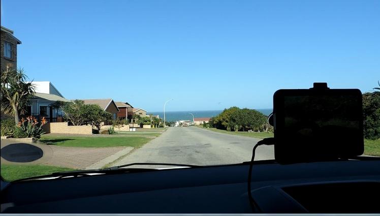 Chegando em Jeffreys Bay