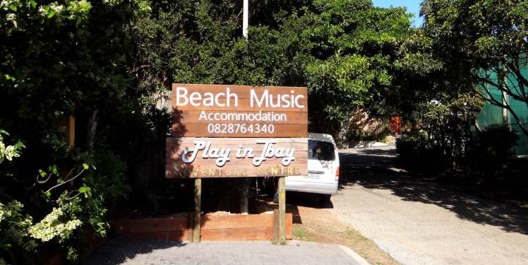 Beach Music - Nossa hospedagem em Jeffreys Bay