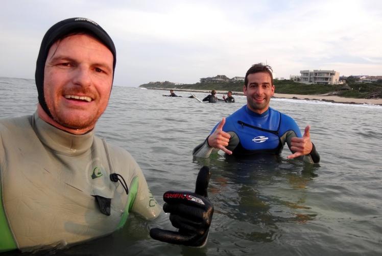Tiburón e Igor em The Point