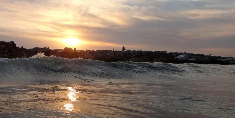 Sunset em Jeffreys Bay