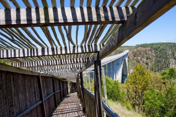 Caminho para a ponte
