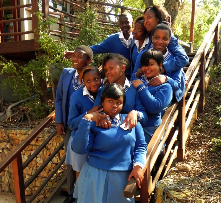 Galerinha linda sul africana