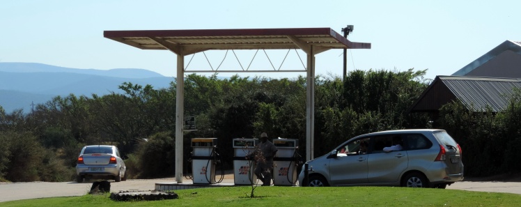 Posto de Gasolina na Main area do ADDO Elephant Park