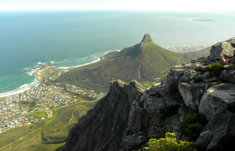 Visual desde a Table Mountain