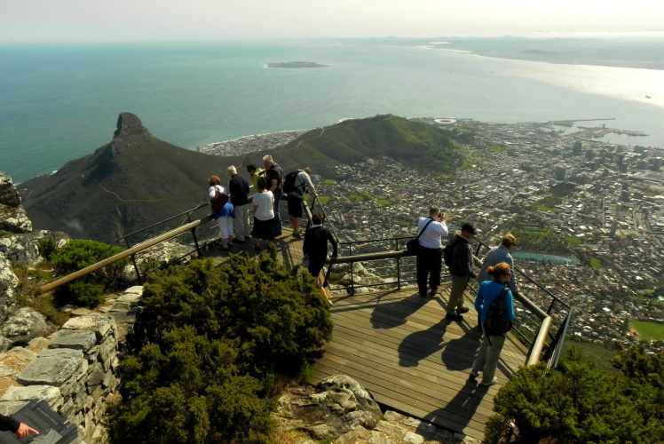 Visual desde a Table Mountain