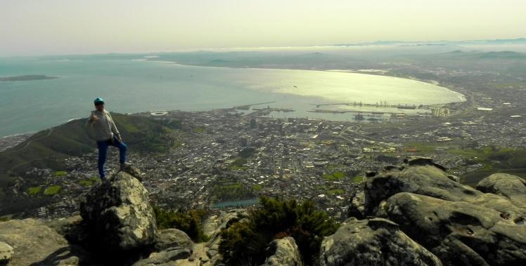 Vista da Table Bay desde a Table Mountain